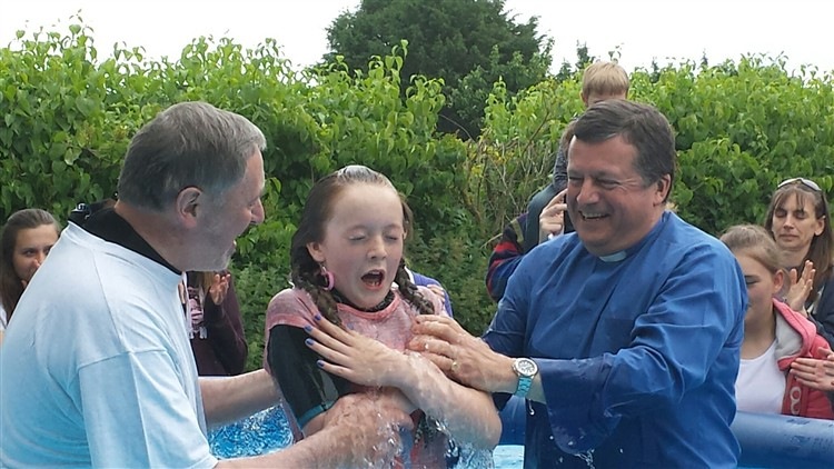Full immersion baptism